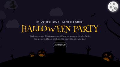 Halloween Spooky Party Animated