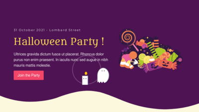 Halloween Kids Party Animated